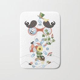 恵みの鼻水(リメイク)/Runny nose of grace (remake) Bath Mat