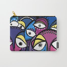 The Abstract Doodle Gang Carry-All Pouch
