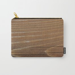 Wood Grain 4 Carry-All Pouch