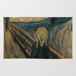 The Scream Rug