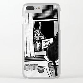 Shazam x Looney Tune Clear iPhone Case