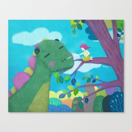 Tickling Canvas Print