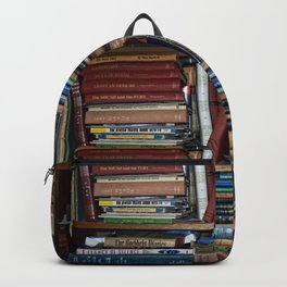 Books on a Shelf Backpack