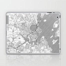 Portland Maine Map Line Laptop & iPad Skin