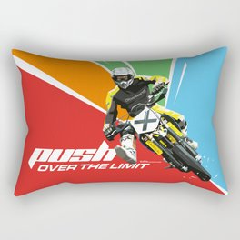 Motocross - Push Over The Limit Rectangular Pillow
