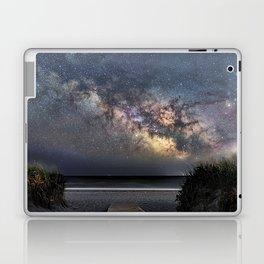 Sea of Stars at the beach Laptop & iPad Skin