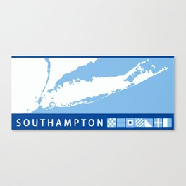 Southampton - Long Island. Canvas Print