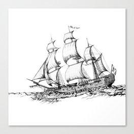 sailing ship . art ( https://society6.com/vickonskey/collection ) Canvas Print