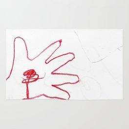 Creative Hand Wax Color Rug