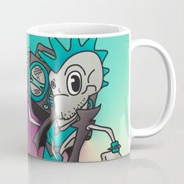 Punk Skeleton Coffee Mug