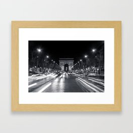 The Arc de Triomphe de l'Étoile Framed Art Print