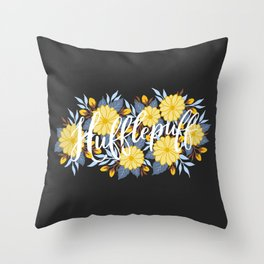 Hufflepuff Throw Pillow