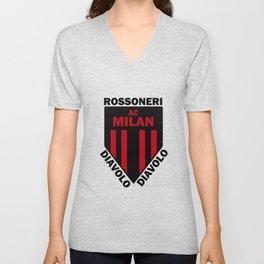Slogan Milan Unisex V-Neck
