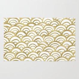 Gold Mermaid Rug