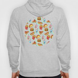Rainbow Fast Food Hoody