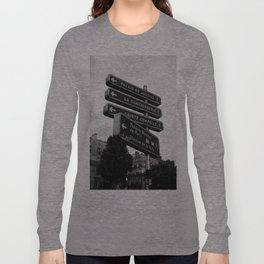 Where Next Long Sleeve T-shirt