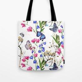 Wild Flowers Field Tote Bag