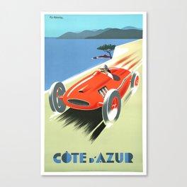Cote d'Azur Speeder Canvas Print