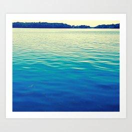 Lake 1,000 Islands NY Art Print