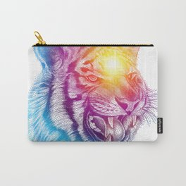 Animal III - Colorful Tiger Carry-All Pouch
