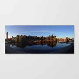 Riverfront Park Canvas Print