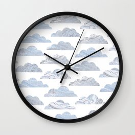 Cute cloud Wall Clock