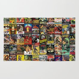 Monster Movies Rug