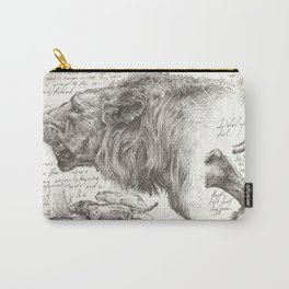 Lion(s) Sketch from Life Carry-All Pouch