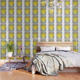 Yellow hot air balloon Wallpaper