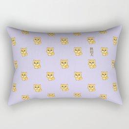 Hachikō, the legendary dog pattern Rectangular Pillow