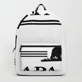 Papa bear Backpack