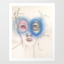goggles Art Print
