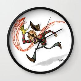 Run Freddy Run! Wall Clock