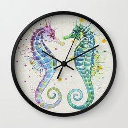 Guardians of the Sea - Natural Wall Clock
