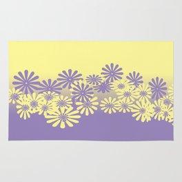 Lavender and Lemon Pattern Rug