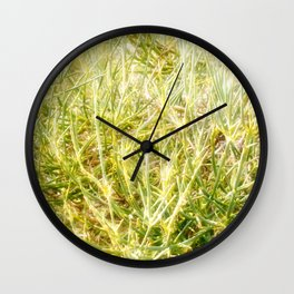Glowing life beautiful nature Wall Clock