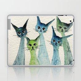 Lakeland Whimsical Cats Laptop & iPad Skin
