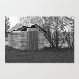Broken Building Canvas Print