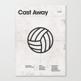 Cast Away — A Movie Poster Canvas Print