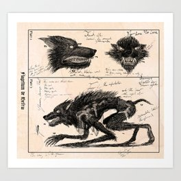 Flegellum de Bestia: Scourge Beast Art Print