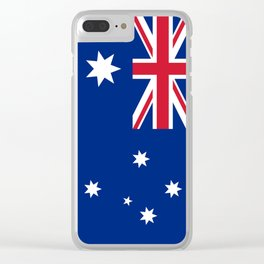 Australian flag, HQ image Clear iPhone Case