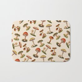 Magical Mushrooms Bath Mat