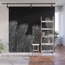 Dark Palm Skies Wall Mural