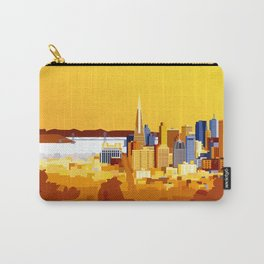 San Francisco on a sunny day Carry-All Pouch