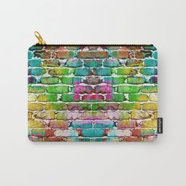 Colored bricks Carry-All Pouch