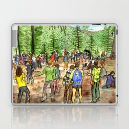 Manali Rave Trance Party india Laptop & iPad Skin