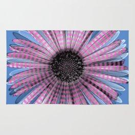 Urban daisy wearing street-cred stripes Rug