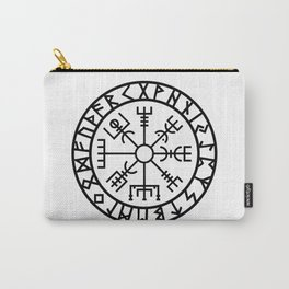 Vegvisir - Futhark - Runes - Navigator Carry-All Pouch