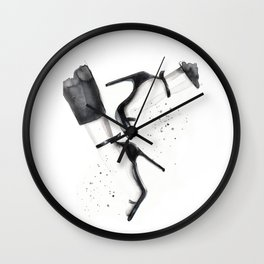 Strap Sandals Wall Clock