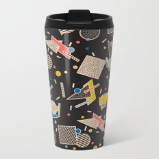 Memphis Inspired Design 8 Metal Travel Mug